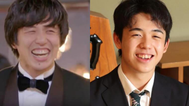 北原一希と藤井聡太が似ているか比較