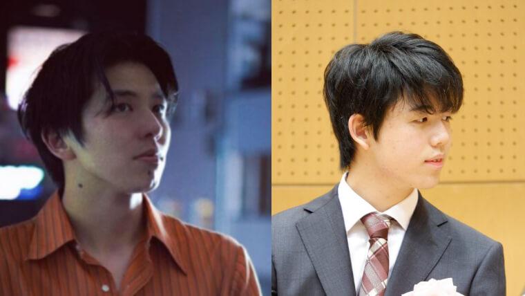 北原一希と藤井聡太の画像比較2