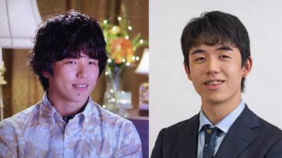 北原一希と藤井聡太の画像比較1