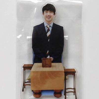 藤井聡太がSixTONESを参考にして作ったアクリルスタンド2