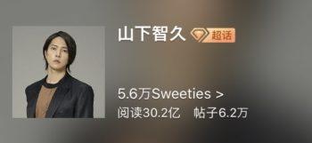 道枝駿佑の中国人気は山下智久よりすごい