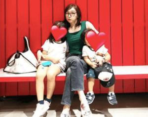 加護亜依の子供は2人
