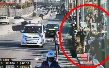 箱根駅伝2021|沿道の観客が多すぎて炎上!ネットで批判の声続出